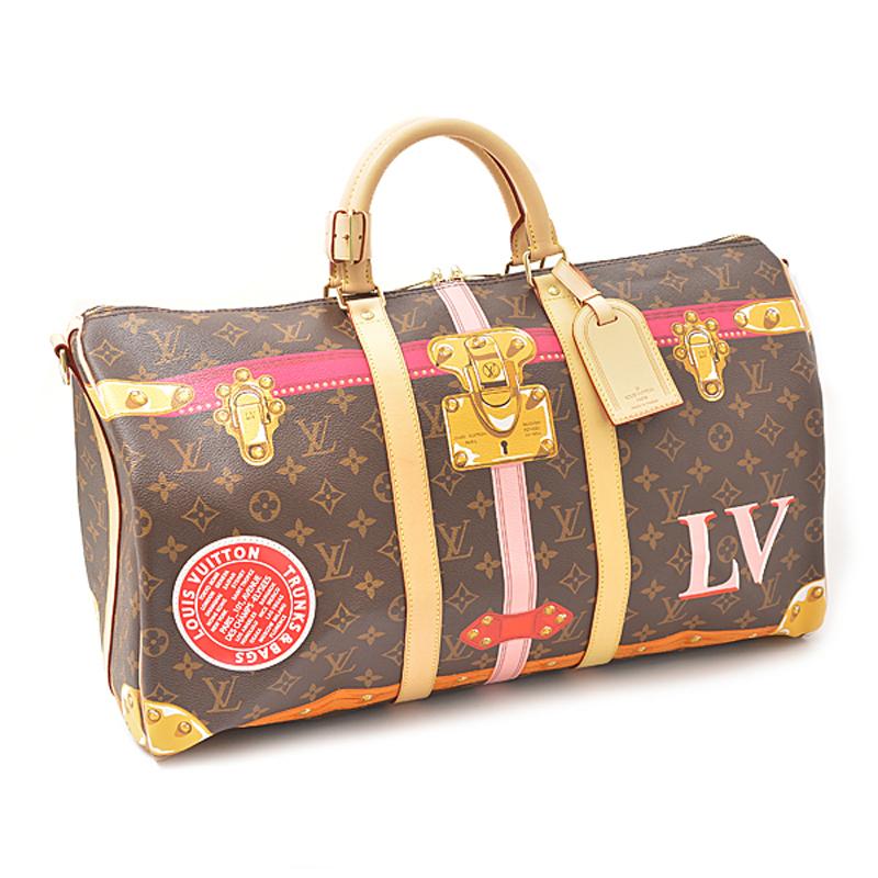ルイヴィトン Louis Vuitton モノグラム キーポル バンドリエール50 M43613